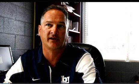 Bob Jones High School Head Coach Kevin Rose talks about Anderson's pair of 99-yard touchdowns. (Solomon Crenshaw Jr. / Alabama NewsCenter)
