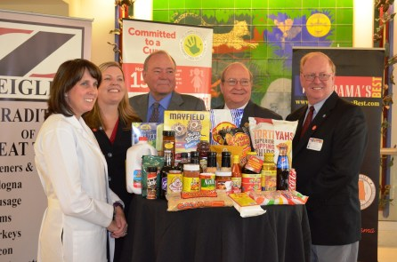 Officials kicked off the Buy Alabama's Best campaign at Children's of Alabama, which will receive proceeds from the sale of select Alabama products in September. (Michael Tomberlin / Alabama NewsCenter)