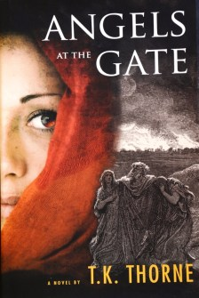 """""""Angels at the Gate,"""" T.K. Thorne's most recent book, is a novel about Lot's wife from the book of Genesis."""