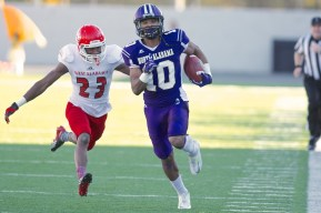 UNA wide receiver Dre Hall, who had more than 1,000 yards last year, is back for another season. (UNA Athletics)