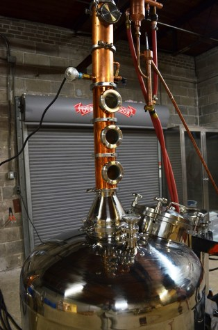 Redmont Distilling Co. became the first distiller to operate (legally) in Birmingham since prohibition when it began making vodka in the Magic City last year. (Michael Tomberlin / Alabama NewsCenter)