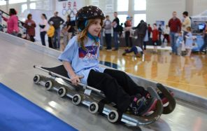 The Lakeshore Foundation's Spirit of Sochi family festival held in conjunction with the Winter Olympics in Sochi, Russia, in 2014. (contributed)