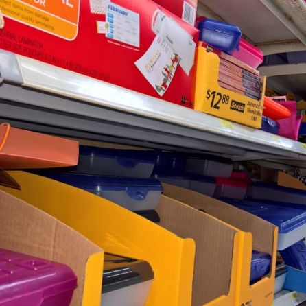 Stores are stocked with supplies as Alabama's 11th annual tax-free shopping holiday starts Friday, Aug. 5. (Ike Pigott/Alabama NewsCenter)