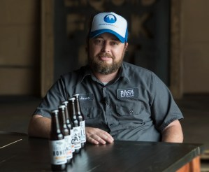 Back Forty Beer Co. founder and CEO Jason Wilson at the brewery in Gadsden. (Bernard Troncale / Alabama NewsCenter)