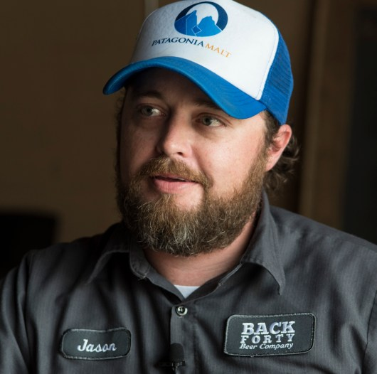 Gadsden's Back Forty Beer Co. founder and CEO Jason Wilson. (Bernard Troncale / Alabama NewsCenter)