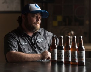 Founder and CEO Jason Wilson at the Back Forty Beer Brewery in Gadsden, Al. May 17, 2016. Bernard Troncale Photo.