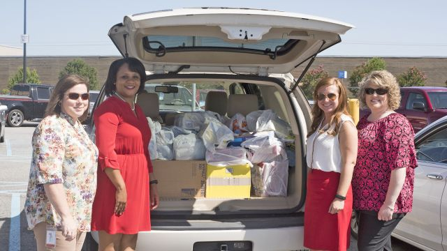 Less fortunate children at Eufaula Primary, other schools get weekend meals, thanks to Southeast APSO