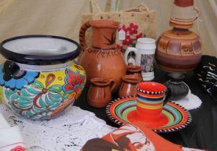 Buy colorful – and useful – handmade wares.