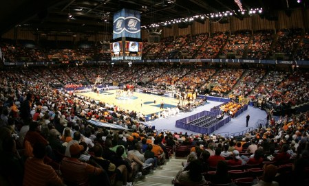 NCAA basketball at Legacy Arena. (Contributed)
