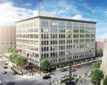 The Pizitz will begin taking residents for its apartments in November and the food hall could see restaurants opening as soon as December. (contributed)