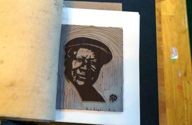 Debra Riffe's displays at art festivals have been winning her increasing attention, and awards. (Mark Sandlin/Alabama NewsCenter)