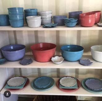 Goods sold at Le Pop-Up include French pottery. (Photo/contributed)
