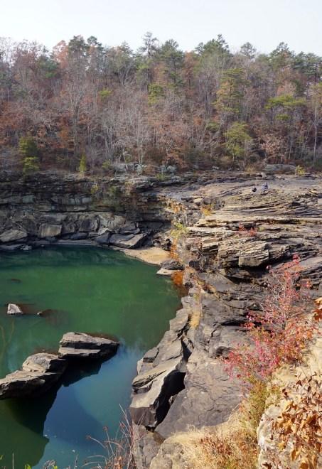 Little River Falls. (Erin Harney/Alabama NewsCenter)