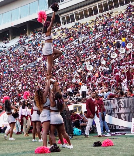 Alabama A&M defeated Alabama State in front of a record crowd for the 75th playing of the Magic City Classic at Legion Field. (Mykeon Smith / Alabama NewsCenter)