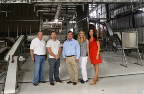 The Woerner family is moving into the next generation of farming with its dehydrated foods operation, Bon Secour Valley Ingredients. (Karim Shamsi-Basha/Alabama NewsCenter)