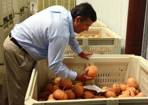 George Woerner has diversified his family farming operations to include a dehydrated food business that produces a variety of useful products and reduces food waste. (Karim Shamsi-Basha/Alabama NewsCenter)