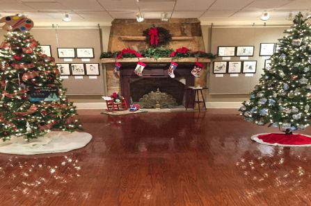 Enjoy a community festival of trees and wreaths. (Contributed)