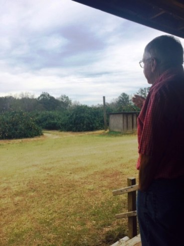 Dallas Hartzog has won a dedicated following for Hartzog Farms' Thanksgiving satsuma crop. (Linda Brannon/Alabama NewsCenter)