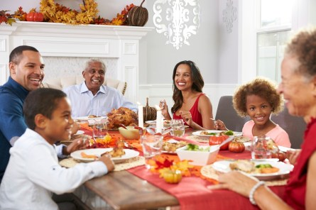 Food, like everything else, needs to be properly balanced this holiday season. (iStock)