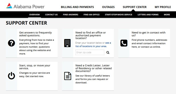 Alabama Power's website, alabamapower.com, has been redesigned with convenience and flexibility in mind, making it easier for customers to get the information and support they need. (Alabama Power)