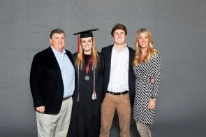 Janie Jackson was among more than 30 student-athletes who graduated from the University of Alabama on Saturday (Shelby Akin/UA Athletics)