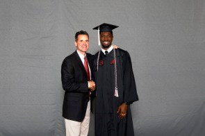 Josh McCullan was among more than 30 student-athletes who graduated from the University of Alabama on Saturday (Shelby Akin/UA Athletics)