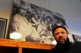 Artie Wilson Jr. traveled to Birmingham to connect with some of the legacy of his late father, former Birmingham Black Baron Artie Wilson. (Solomon Crenshaw Jr. / Alabama NewsCenter)