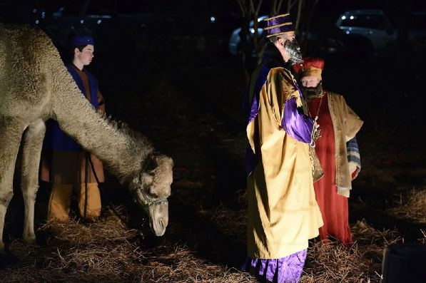"Briarwood Presbyterian Church presents ""Walk-through Nativity."" (Contributed)"