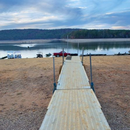 Drought impacts on Lake Purdy (Wynter Byrd/Alabama NewsCenter)