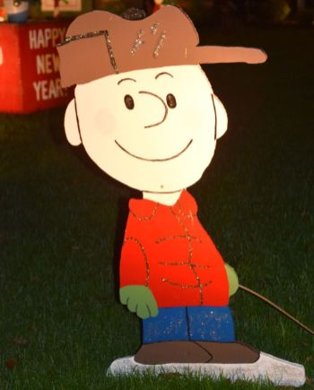 Charlie Brown adds fun. (Donna Cope / Alabama NewsCenter)