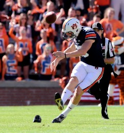 Auburn's star kicker Daniel Carlson will be available to help the South win Saturday's Senior Bowl. (Dakota Sumpter / Auburn Athletics)