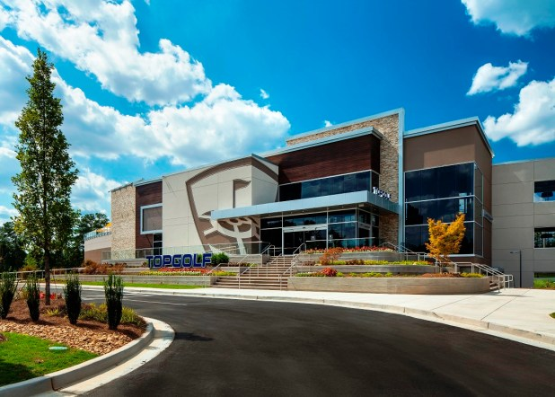 The Topgolf driving range and entertainment center planned for Birmingham. (Michael Baxter/Baxter Imaging LLC)