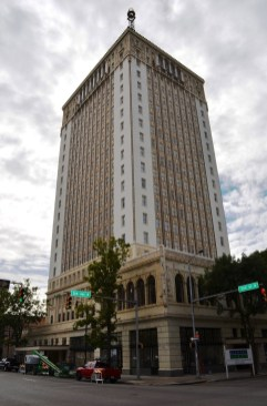 The Thomas Jefferson Tower is among the restoration projects aided by Alabama's historic tax credits. (Michael Tomberlin/Alabama NewsCenter)