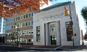 Birmingham's Federal Reserve building was restored with help from Alabama's historic tax credits. (Michael Tomberlin/Alabama NewsCenter)