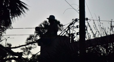 Alabama Power crews put thousands of hours into restoring power to areas in southeast Georgia in the wake of Hurricane Matthew. (Contributed)