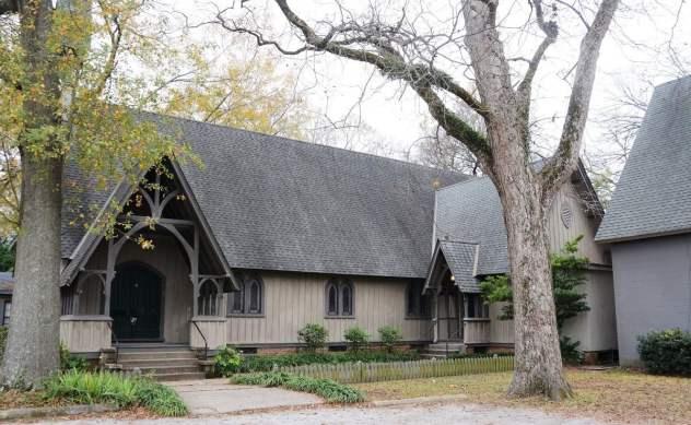 The Cottage Hill neighborhood dates to the late 1800s. (Karim Shamsi-Basha/Alabama NewsCenter)