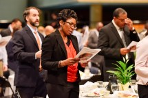 Birmingham held its annual Unity Breakfast at the Birmingham-Jefferson Convention Complex today in honor of Martin Luther King Jr. and civil rights history. (Frank Couch / Alabama NewsCenter)