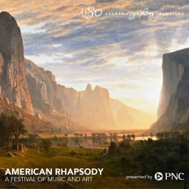 """American Rhapsody"" was a collaboration between the Alabama Symphony Orchestra and the Birmingham Museum of Art. (Alabama Symphony)"