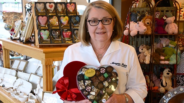 Alabama Maker Morgan Price Candy Company has sweets for your sweetie on Valentine's Day
