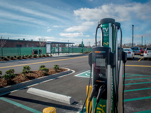 EV drivers have more charging station options. (UAB)
