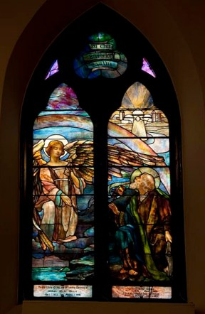 Tiffany stained glass windows, St. Paul's Episcopal Church, Selma, 2010. (The George F. Landegger Collection of Alabama Photographs in Carol M. Highsmith's America, Library of Congress, Prints and Photographs Division)