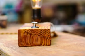 Flannel and Floral works in wood to create original works of functional art. (Mark Sandlin / Alabama NewsCenter)