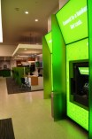 Video banker teller machines are found inside and outside of the new branch. (Michael Tomberlin / Alabama NewsCenter)
