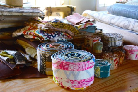 Re-Invention is a Montgomery textile operation that produces beautiful products while helping women escape poverty. (Karim Shamsi-Basha/Alabama NewsCenter)