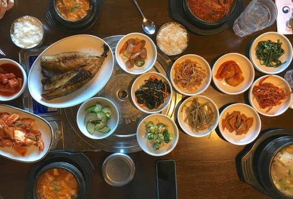 With its many side dishes, Korean food can be intimidating to those who haven't eaten it. (Ann Taylor Pittman)