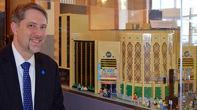 Meet 'Mr. Lego': Wesley Higgins' McWane Science Center model captures children's imaginations