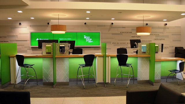 Regions Bank brings new branch concept to its flagship downtown Birmingham headquarters