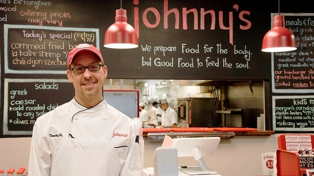 Johnny's chef and owner Timothy Hontzas a James Beard semifinalist