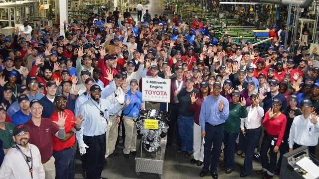 Study: Toyota engine plant supports 9,700 Alabama jobs