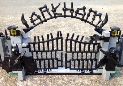 Higgins is bringing Batman's Arkham Asylum to life. (Wesley Higgins)